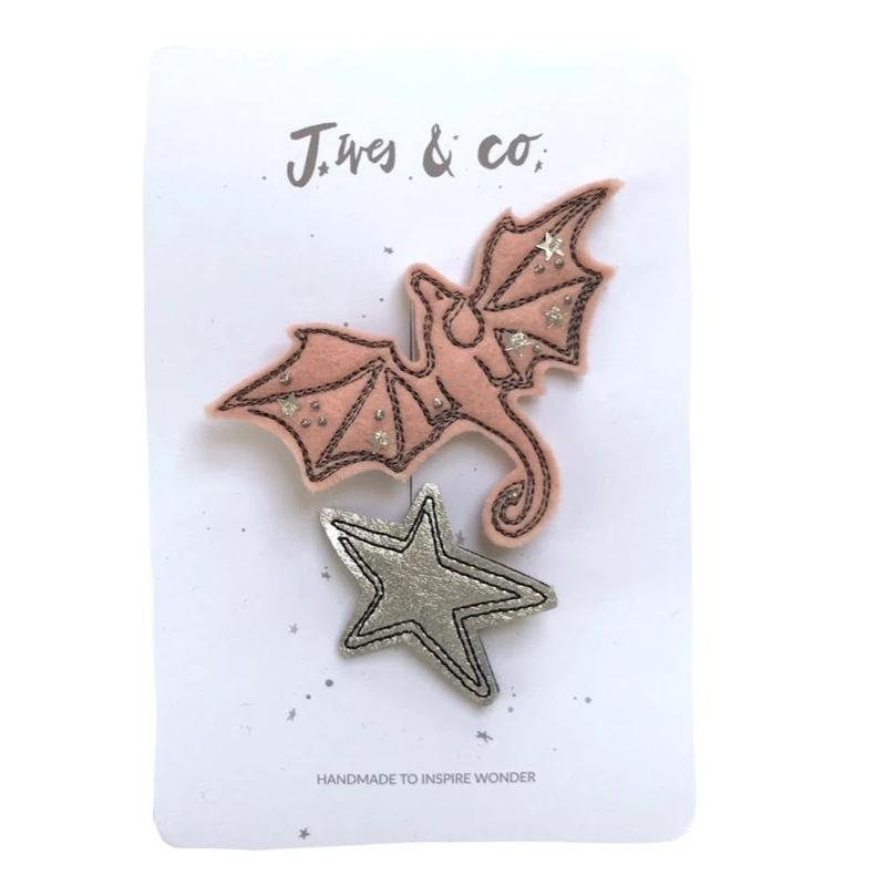 Baby Jives Hair Clips-Dragons