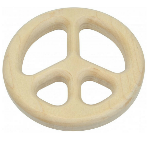Maple Landmark Maple Teethers Peace Teether