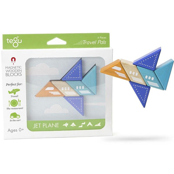 Tegu Travel Pals Jetplane