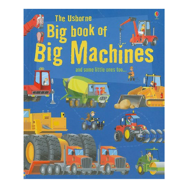 Usborne Big Books Machines