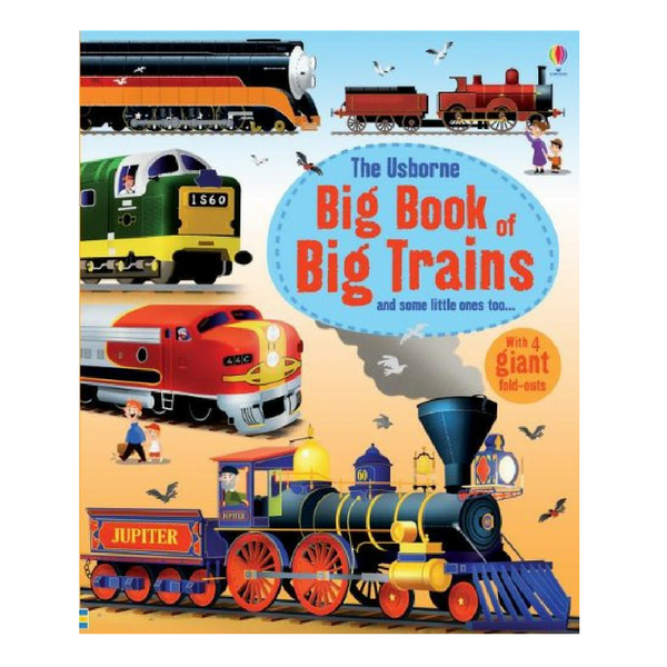 Usborne Big Books Trains
