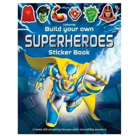 Usborne Build your Own Superheroes