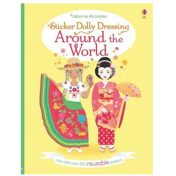 Usborne Dolly Dressing Around the World