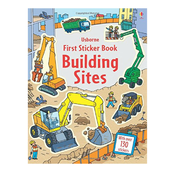 Usborne First Sticker Building Sites