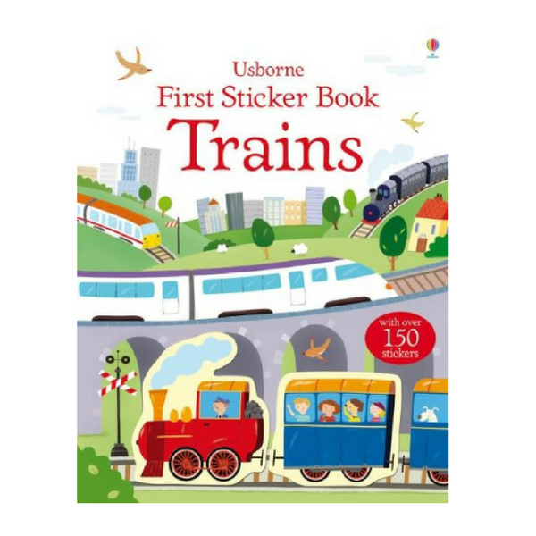 Usborne First Sticker Trains