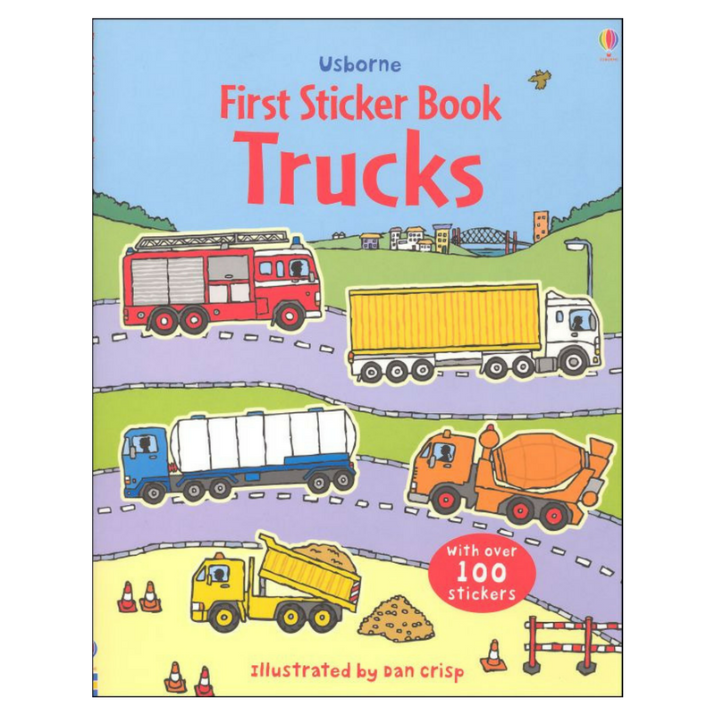 Usborne First Sticker Trucks