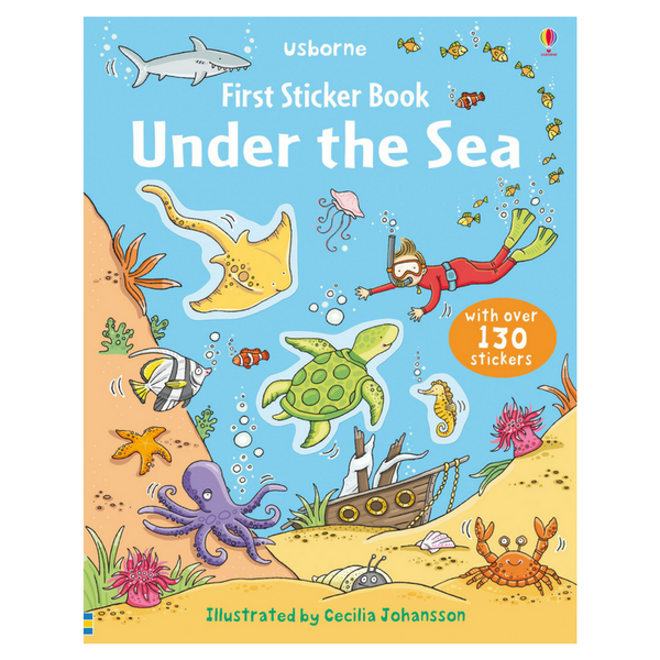 Usborne First Sticker Under the Sea