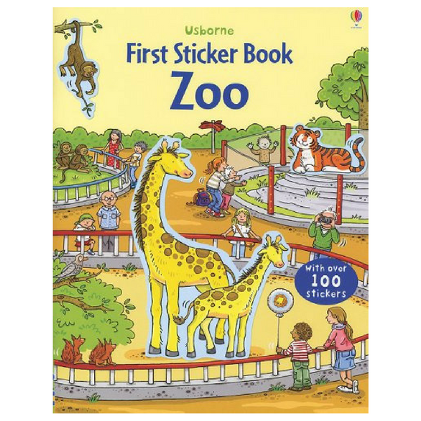 Usborne First Sticker Zoo