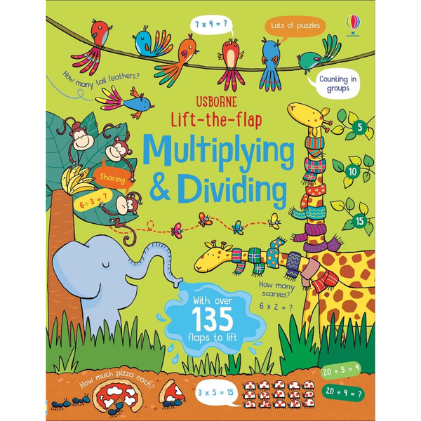 Usborne Lift the Flap Multiplying and Dividing