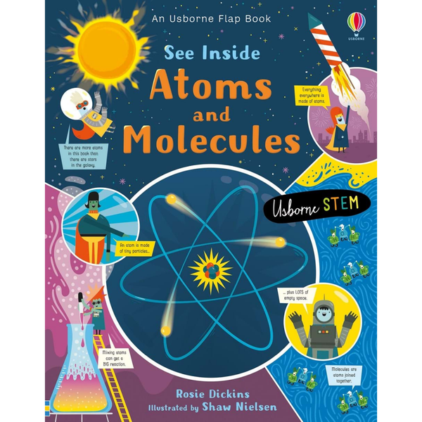 Usborne See Inside Atoms and Molecules