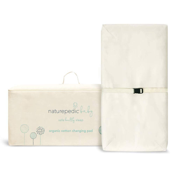 Naturepedic 4-Sided Organic Cotton Contoured Changing Pad
