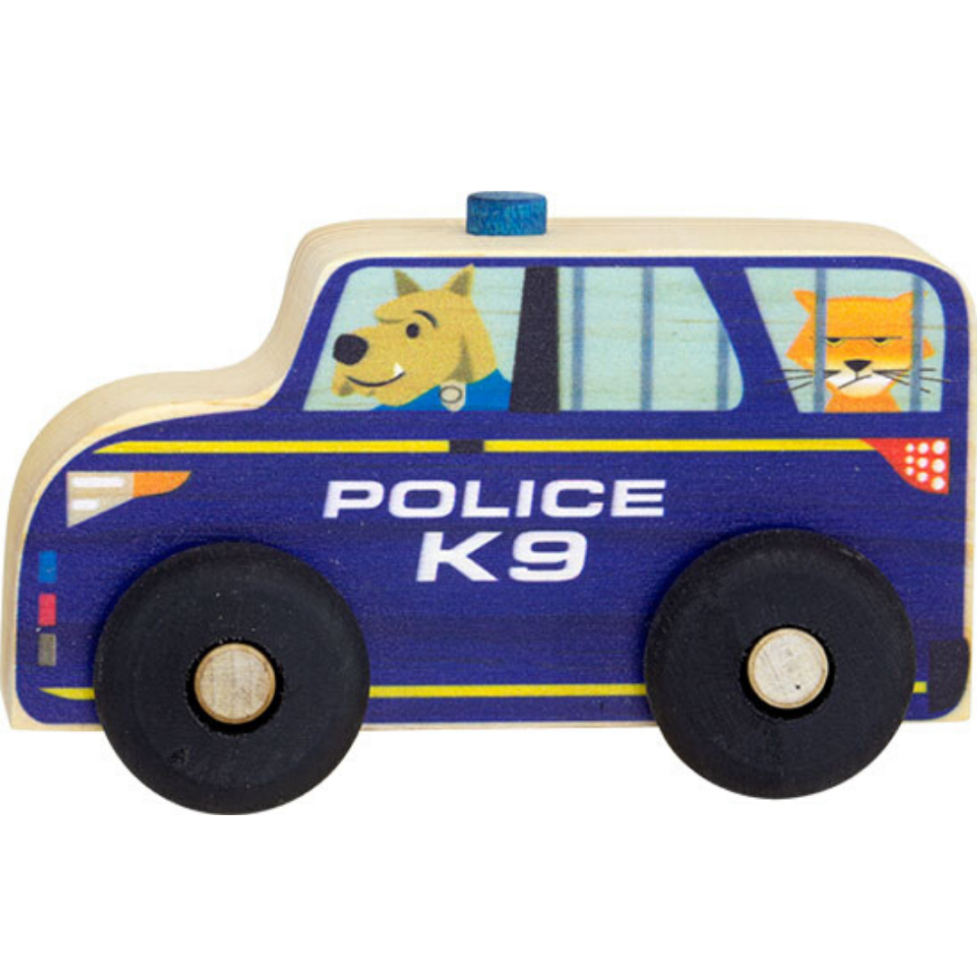 Maple Landmark Scoots Police Car