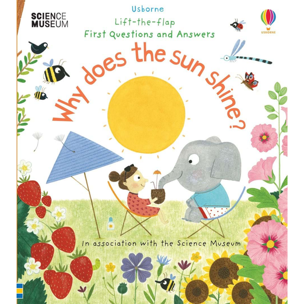 Usborne Flap Why does the Sun Shine?