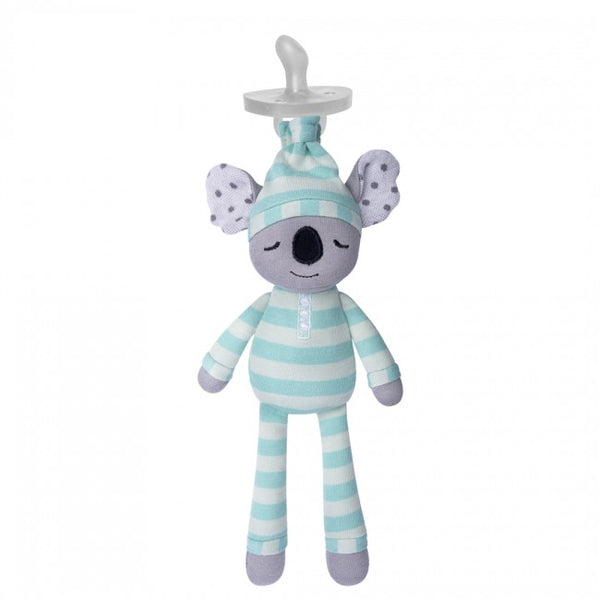 Apple Park Organic Pacifier Buddies Kozy Koala