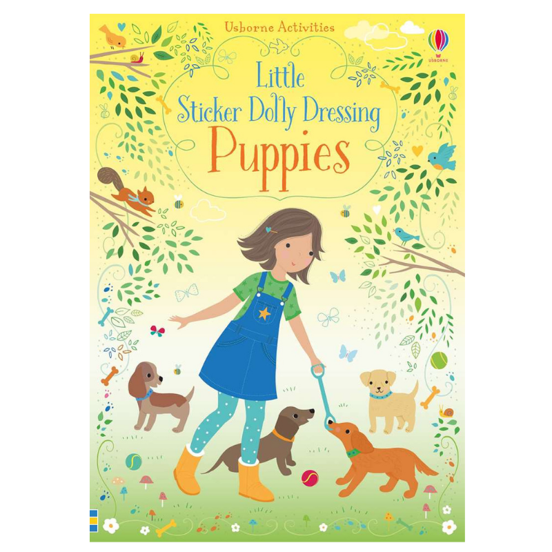 Usborne Little Dolly Dressing Puppies