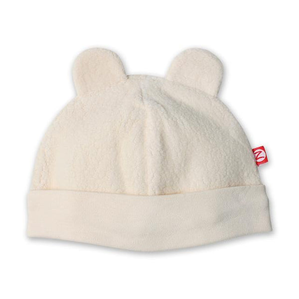 Zutano Cozie fleece hat cream
