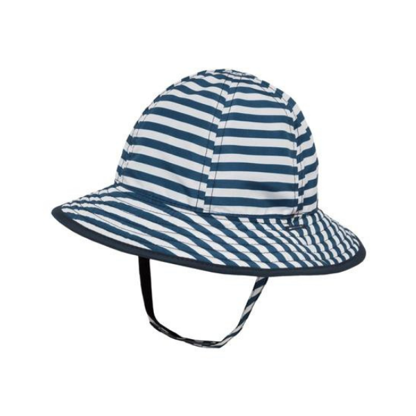 Sunday Afternoons Infant Bucket Hat Navy Stripe