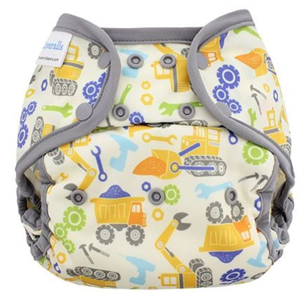 Blueberry Capri Diaper Cover -Newborn