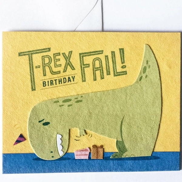 Good Paper T-Rex Fail