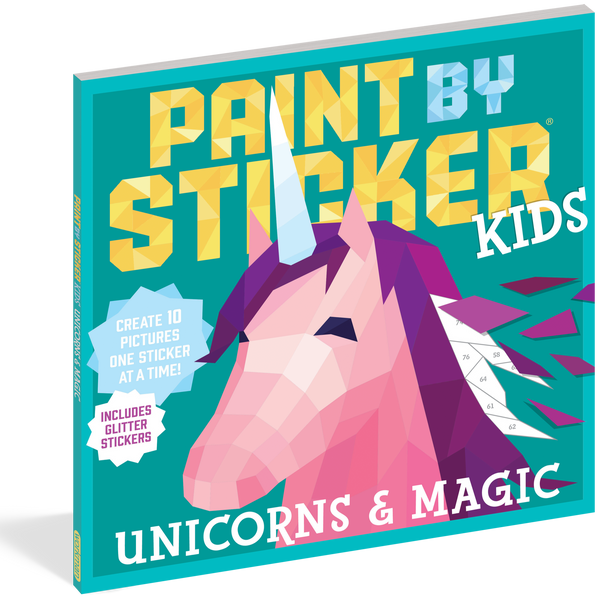 Paint by Sticker Kids Unicorns and Magic
