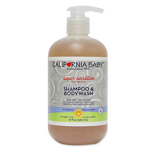 California Baby Shampoo and Body Wash 19 oz.