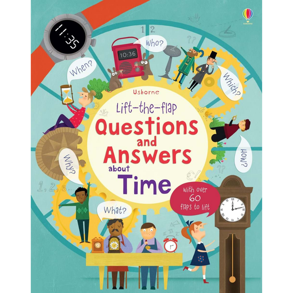 Usborne Q and A Flap Book About Time