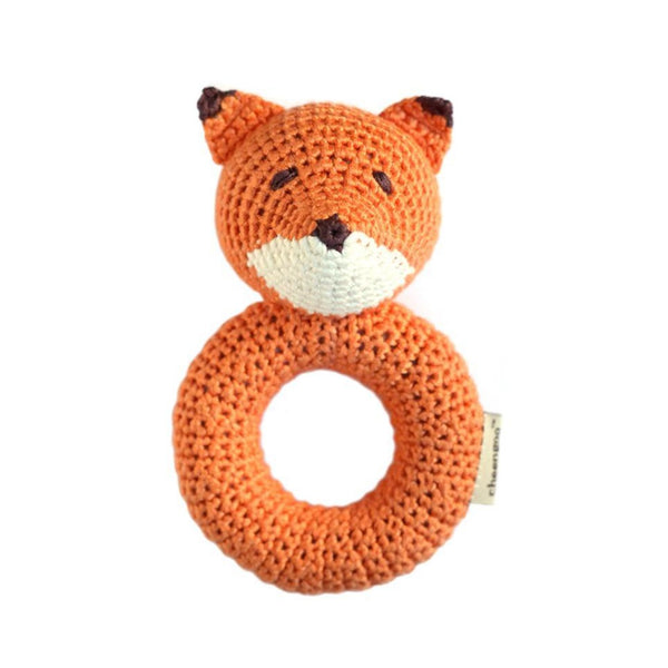 Cheengoo Ring Rattle Fox