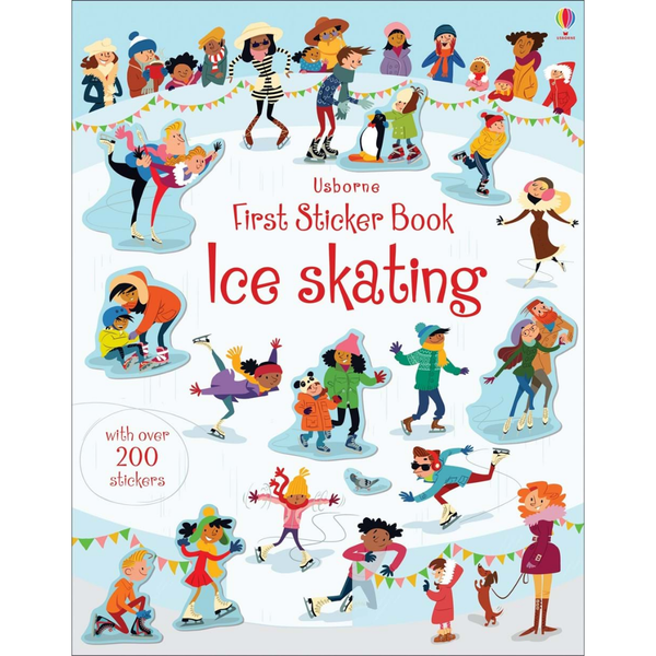 Usborne First Sticker Ice Skating