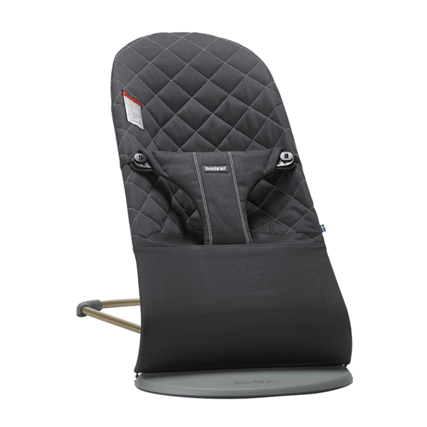 BabyBjorn Bouncer Bliss - Anthracite Cotton