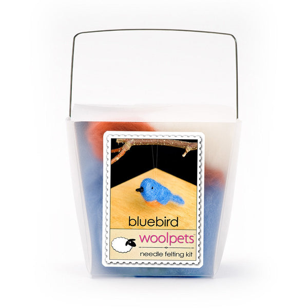 Wool Pets Kit Bluebird