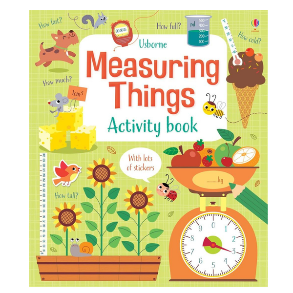 Usborne Math Activity Book Measuring Things