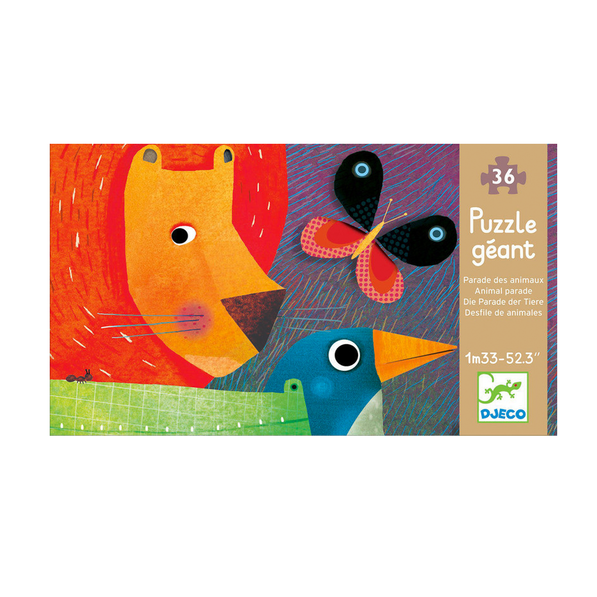 Djeco Puzzle -Animal Parade