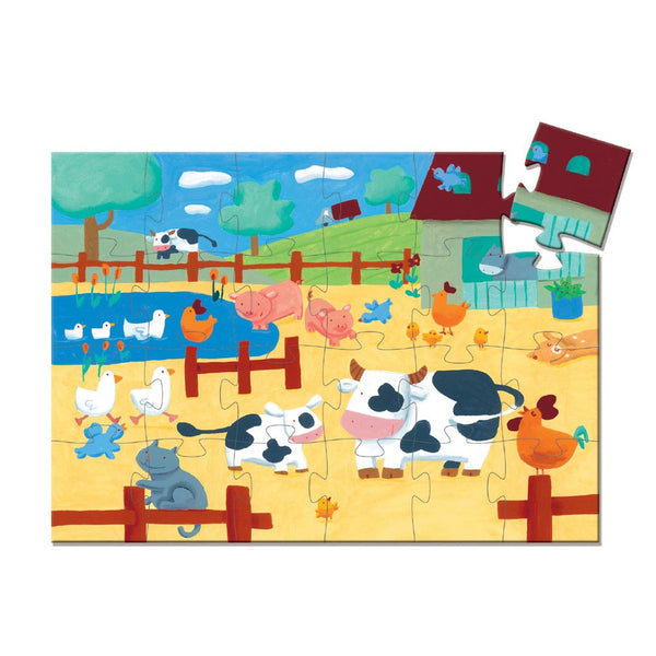 Djeco Puzzle -Cows on the Farm