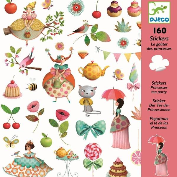 Djeco Stickers Princess Tea Party