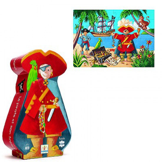 Djeco Puzzle -The Pirate
