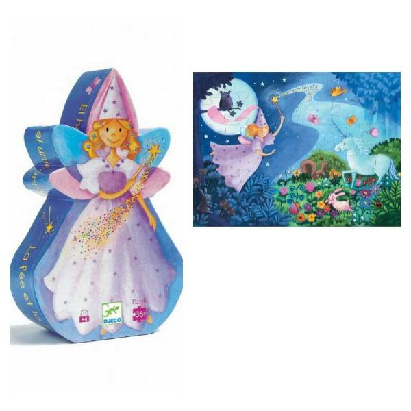 Djeco Puzzle -Fairy and Unicorn
