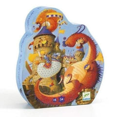 Djeco Puzzle -Vaillant and the Dragon Puzzle