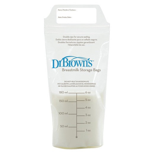 Dr. Brown's Breastmilk Storage Bags