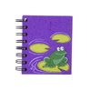 Ellie Pooh Small Notebook Frog Purple