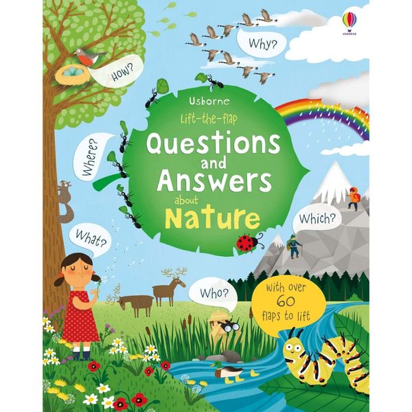 Usborne Q and A Flap Book About Nature