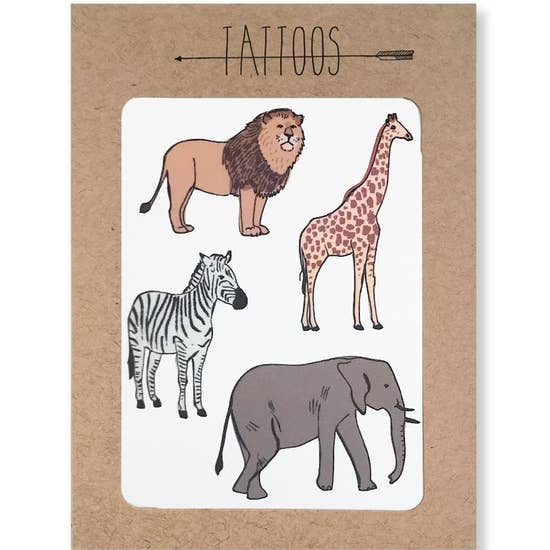 Hartland Brooklyn Tattoos- Safari