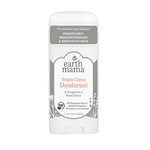 Earth Mama Bright Citrus Deodorant