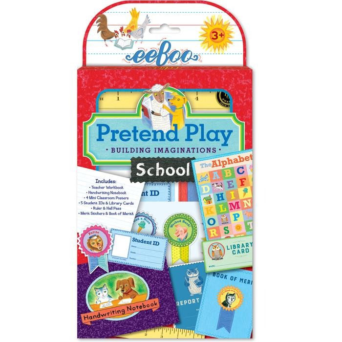 Eeboo Pretend Play School