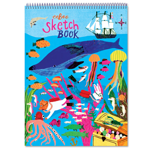 Eeboo Sketchbook In the Sea