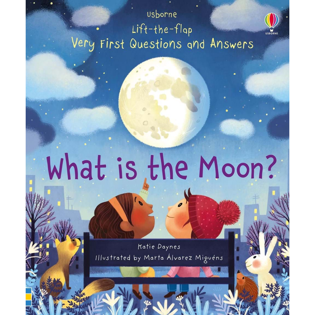 Usborne What is the Moon? Flap Book