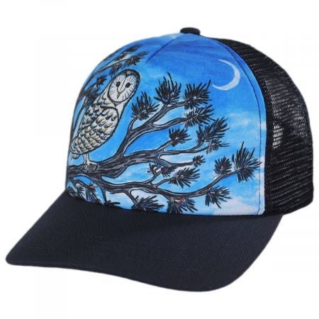 Sunday Afternoons Kids Trucker Hat Night Owl