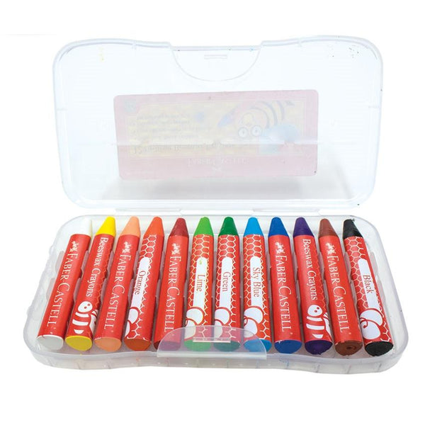 Faber Castell Beeswax Crayons