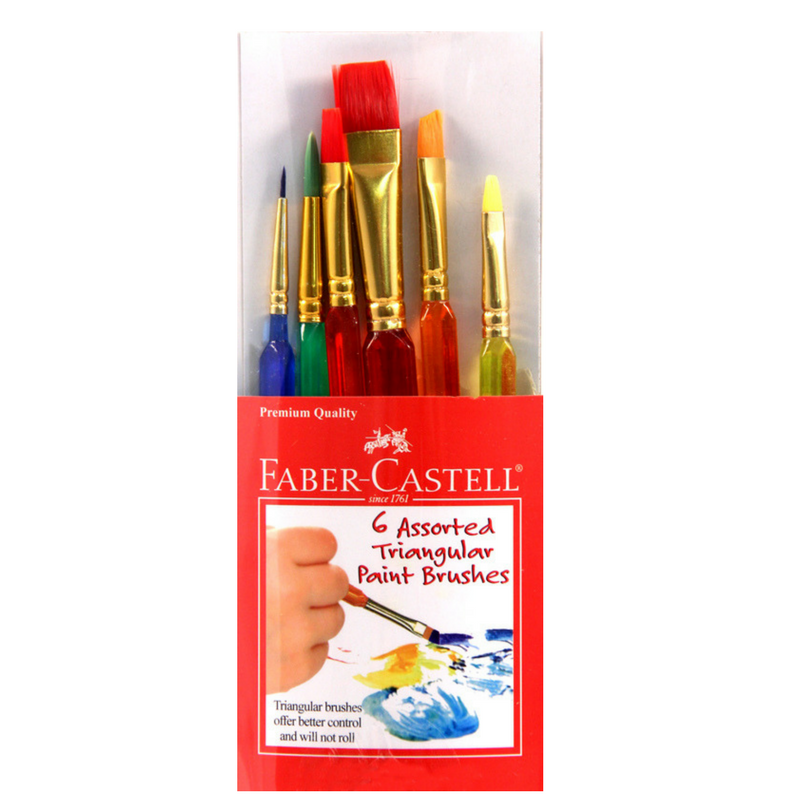 Faber Castell Triangular Paint Brushes