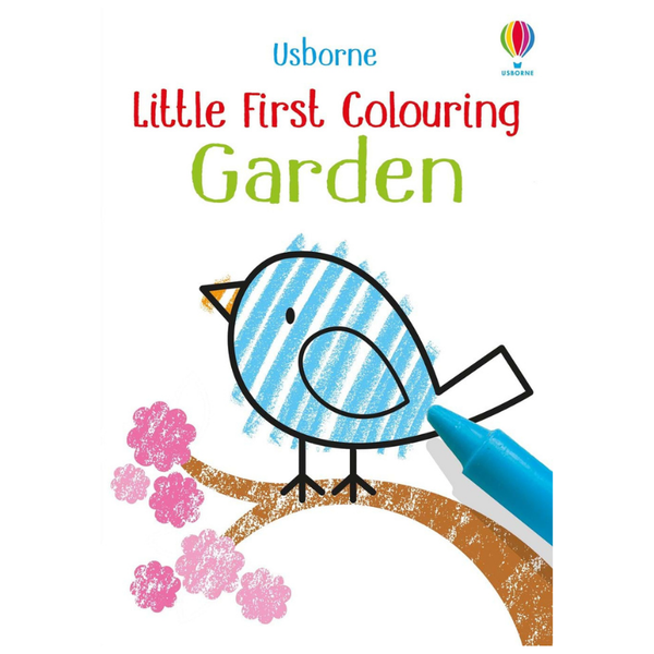 Usborne Little Coloring Garden