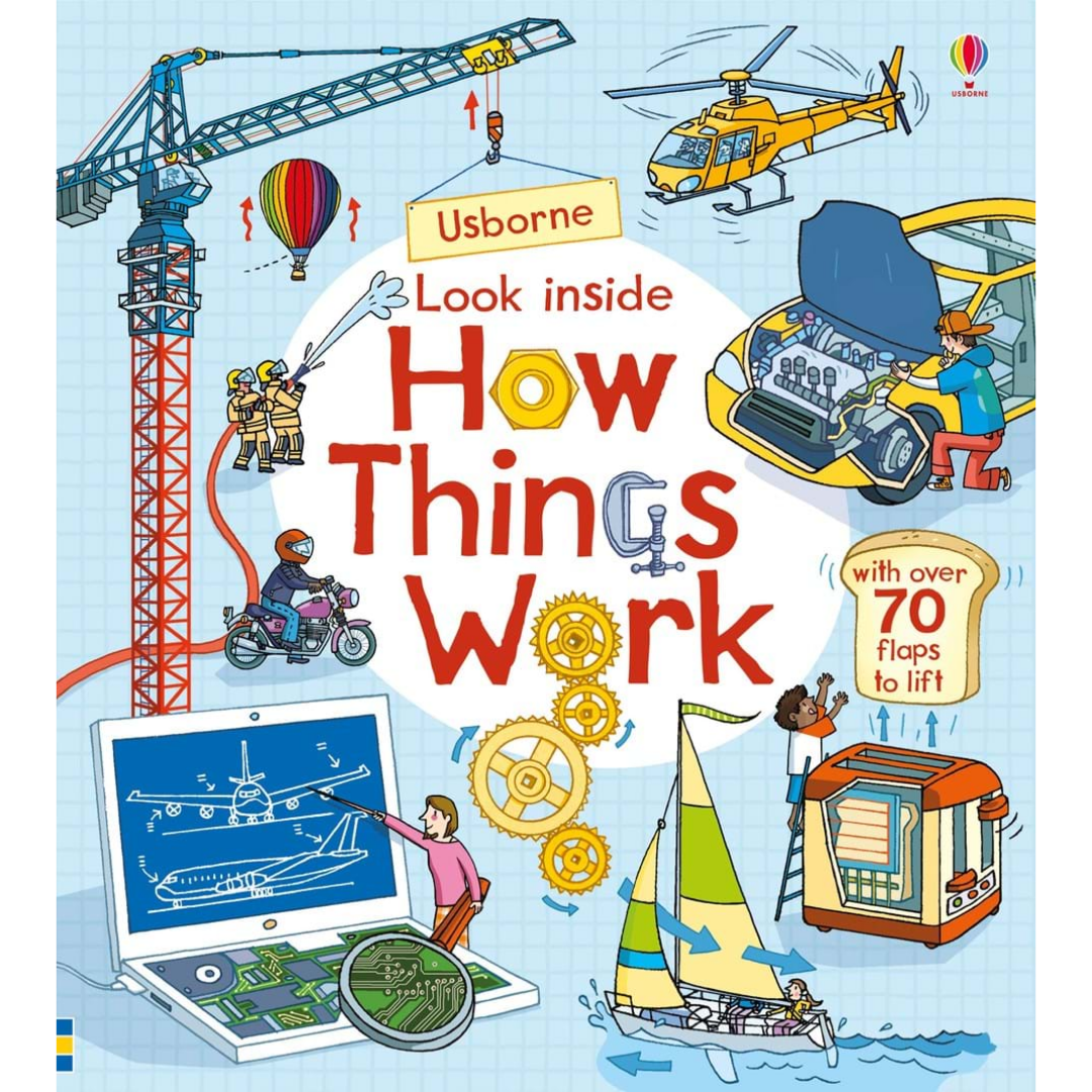 Usborne Look Inside How Things Work